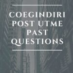 College Of Education Gindiri Post UTME Past Questions