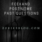 Federal College Of Education Kano Post UTME Past Questions And Answers