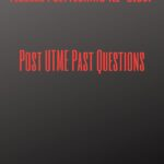 Federal Polytechnic Ile-Oluji Post UTME Past Questions – Free Download Guide