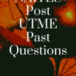 NAITES Post UTME Past Questions And Answers Free Download