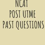 Nigerian College Of Aviation Technology Post UTME Past Questions And Answers
