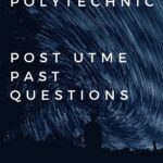 Kwara State Polytechnic Post UTME Past Questions And Answers