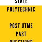 Nasarawa State Polytechnic Post UTME Past Questions And Answers