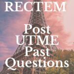 Redeemers College Of Technology And Management Post UTME Past Questions