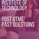 Savanah Institute Of Technology Post UTME Past Questions And Answers