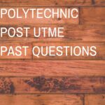Speedway Polytechnic Post UTME Past Questions And Answers