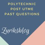 Wolex Polytechnic Post UTME Past Questions And Answers