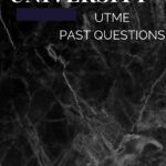 Spiritan University Post UTME Past Questions And Answers | Free Download