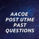 Adamu Augie College Of Education Post UTME Past Questions