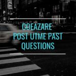 College Of Education Azare Post UTME Past Questions