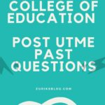 Peaceland College of Education Post UTME Past Questions