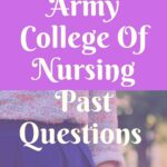 Nigerian Army College Of Nursing Past Questions Free Download