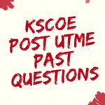Kaduna State College Of Education Post UTME Past Questions
