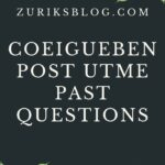 Edo State College Of Education Igueben Post UTME Past Questions