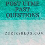 Jigawa State College Of Education Post UTME Past Questions