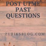 Niger State College Of Education Post UTME Past Questions