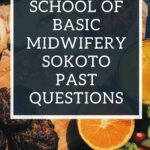 School Of Basic Midwifery Sokoto Past Questions Free Download