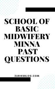 School Of Basic Midwifery Minna Past Questions