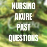 School Of Nursing Akure Past Questions And Answers Free Download