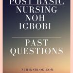 School Of Post Basic Nursing NOH Igbobi Past Questions Free Download