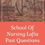 School Of Nursing Lafia Past Questions And Answers Free Download