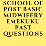 School Of Post Basic Midwifery Emekuku Past Questions Free Download