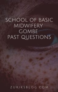 School Of Basic Midwifery Gombe Past Questions