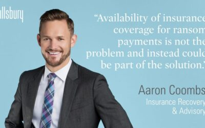 The Role of Cyber Insurance in Ransomware Risk Management — Policyholder Pulse — June 3, 2021